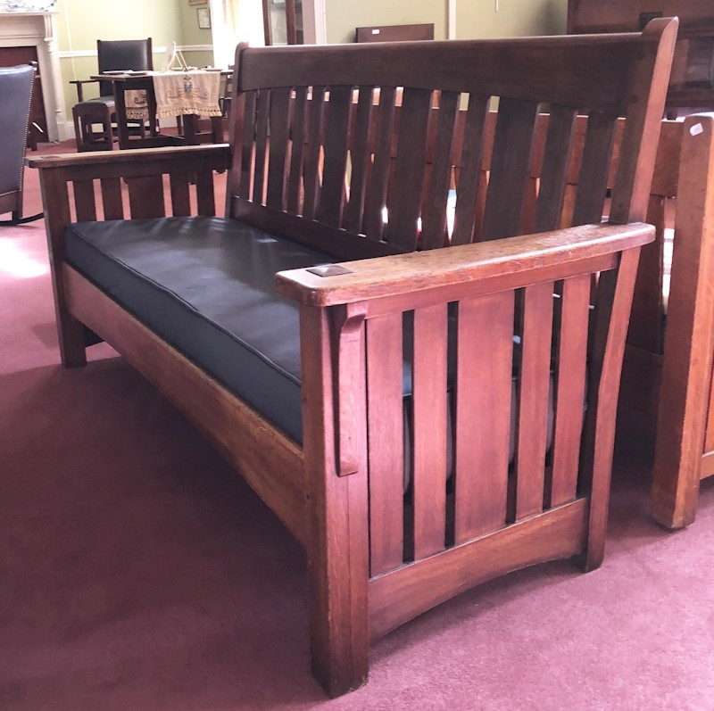 AFTER 40 YEARS OF SPECIALIZING IN STICKLEY FURNITURE I HAVE SOLD MY HOME  AND WAREHOUSE. AND I AM DRASTICALLY DOWNSIZING MY BUSINESS. - Gustav Stickley Furniture, Buying And Selling Antique Mission Style