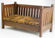 Stickley Even Arm Crib Settle